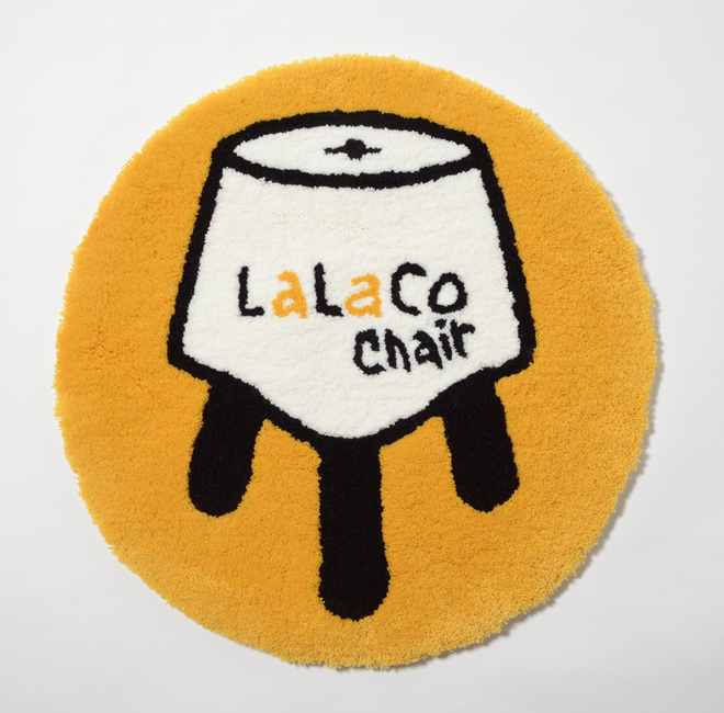 LaLaCoチェアマット(円形)